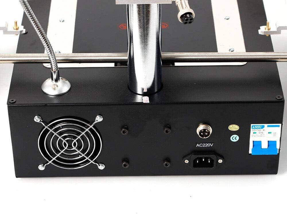 WUPYI2018 L/ötstation L/ötmaschine IR6500 BGA Infrarot Reparaturmaschine BGA Schwei/ßger/ät Reparaturstation L/ötstationen