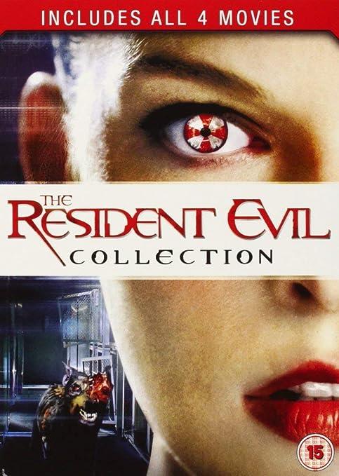 Resident Evil 1-4 [DVD] [2011] by Milla Jovovich: Amazon.es: Milla Jovovich, unknown: Cine y Series TV