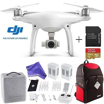 DJI Phantom 4 Quadcopter Drone Aircraft Deluxe Bundle: Amazon.es ...