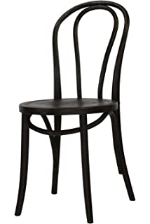 Adele Espresso French Cafe Chair (Set Of 2)