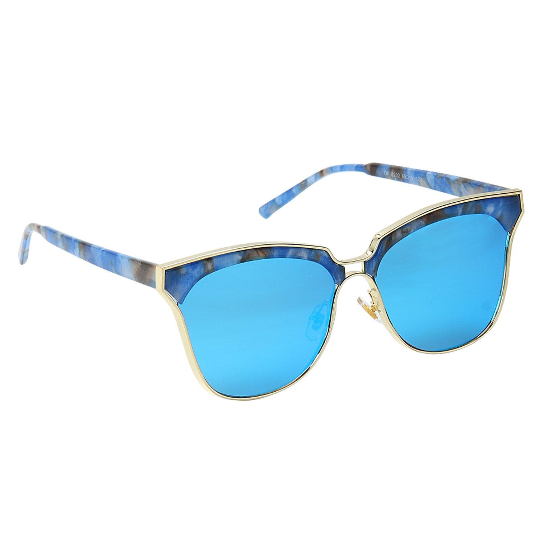 Cool Blue Full Rim UV Protected Sunglasses