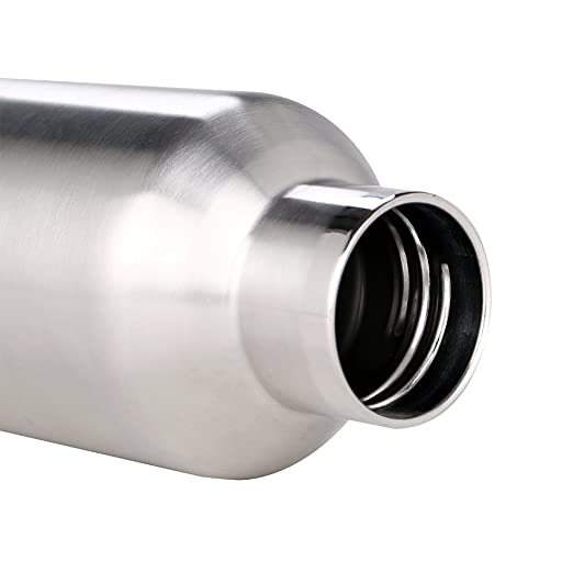 3e casa ssr-1100 Thermost doble aislamiento al vacío Hydro Frasco de acero inoxidable botella de agua de viaje, boca ancha, sin BPA, 35 oz (1000ml): ...