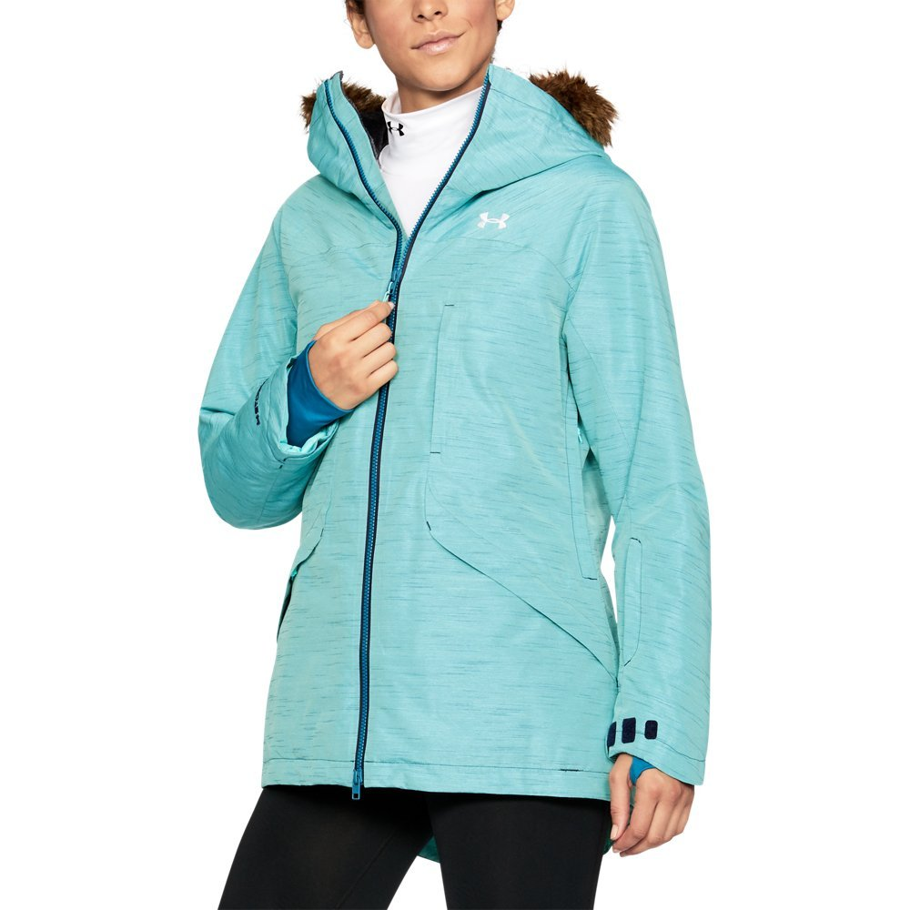 Under Armor Women's ColdGear Infrared Kymera Jacket, Midnight Navy/Blue Infinity, X-Large by Under Armour