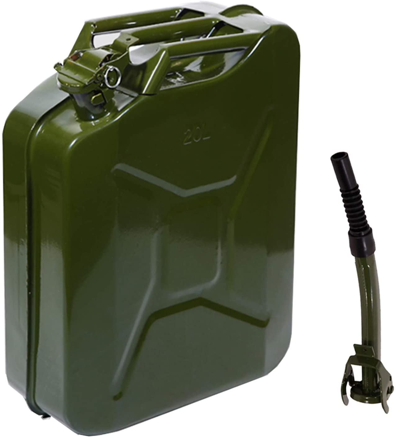 Green Military Army Style Metal Jerry Can Nozzle