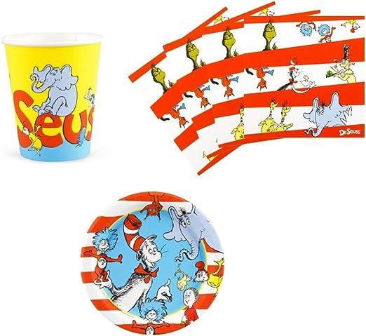 Amazon.com: Dr Seuss gato en el sombrero suministros para ...