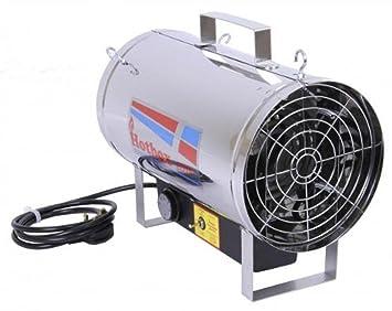 2 Kilowatt Wall Mount Fan Heater for Greenhouse Growing Shed