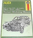 img - for Audi 80. 1972 - 1979. Haynes Manual No 207 book / textbook / text book