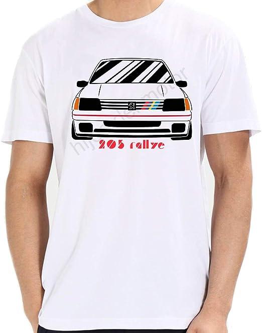 Desconocido Camiseta Peugeot 205 Rallye: Amazon.es: Ropa y accesorios