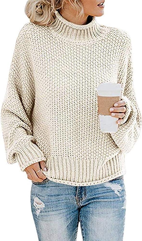 Señoras Mujeres Cable de punto de cuello en V Manga Larga De Punto Jersey Suéter De Calidad Superior