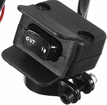 3M ATV UTV Winch Rocker Switch Handlebar Control Line Tool For Warn Accessories