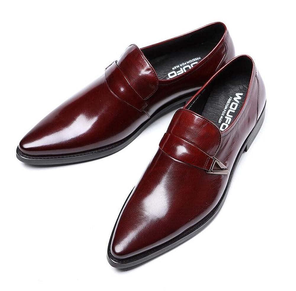 MYI Herrenschuhe Geschäft Kleid Schuhe Set Füße Tägliche Arbeitskleidung Reine Lederschuhe Neu