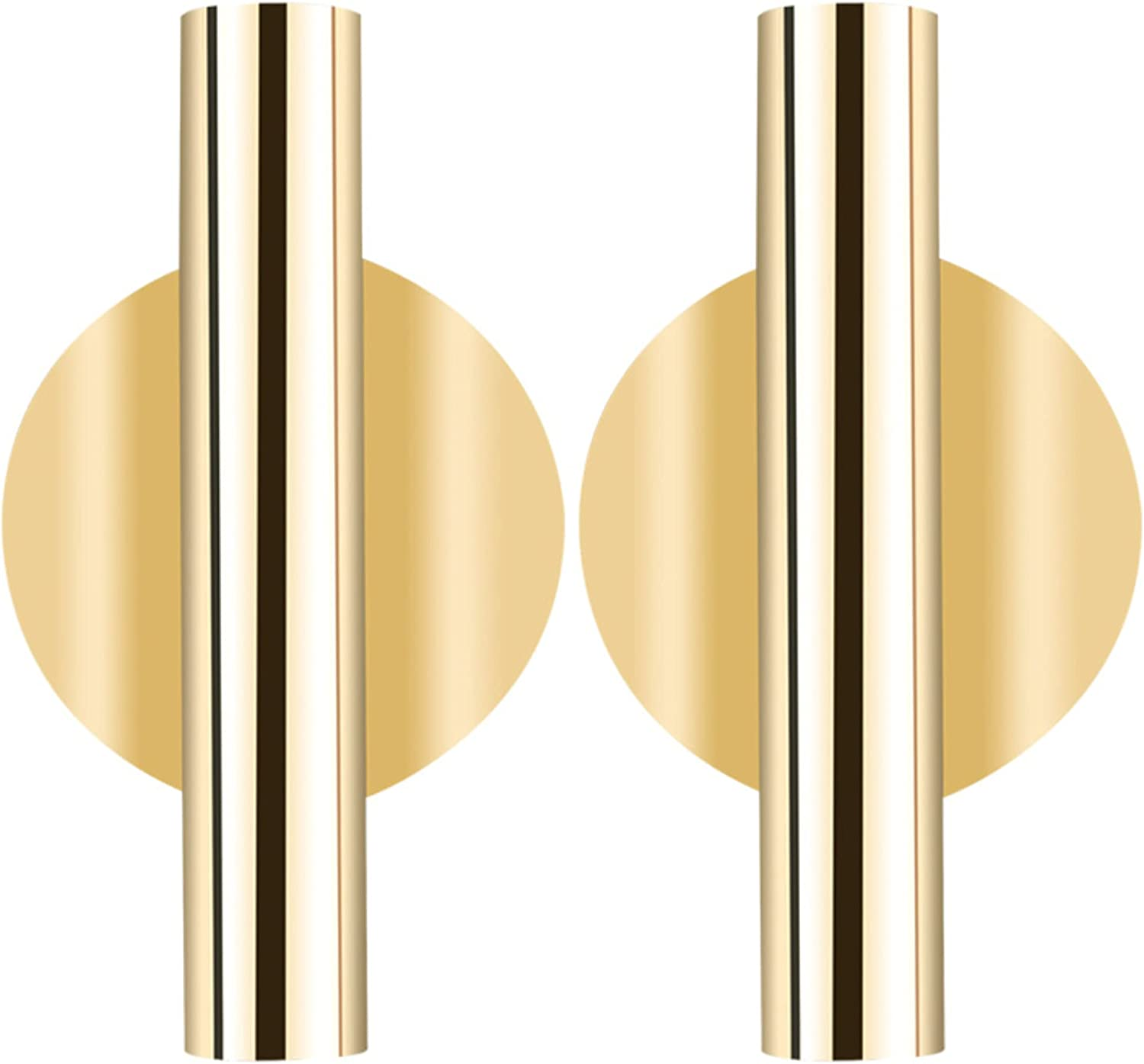 Papa's Pampas Gold Flower Vases for Cemetery Headstone and Wall Decor - 2 PCS