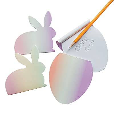 Fun Express - Easter Ombre Notepads for Easter - Stationery - Notepads - Notepads - Easter - 24 Pieces: Toys & Games