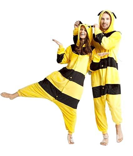 Inception Pro Infinite Größe XL - Pyjamas und Kostüm - Verkleidung - Karneval - Halloween - Pikachu - Pokemon - Gelb - Schwar