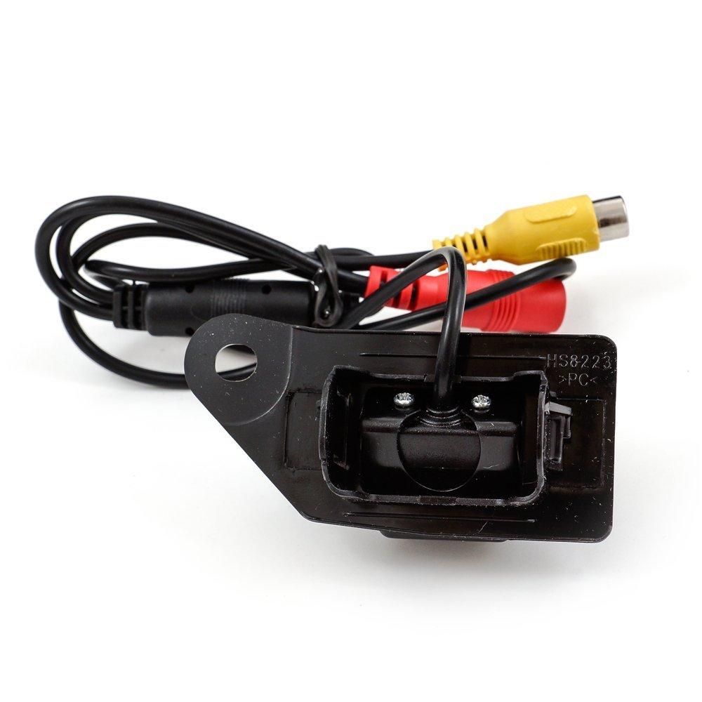 CCD Track Car Rear View telecamera Inverso di riserva telecamera Parcheggio Assistenza Linea traccia videocamera Notte Visione LED Luce Impermeabile perMitsubishi ASX 2011 2012 2013 2014 2015 2016