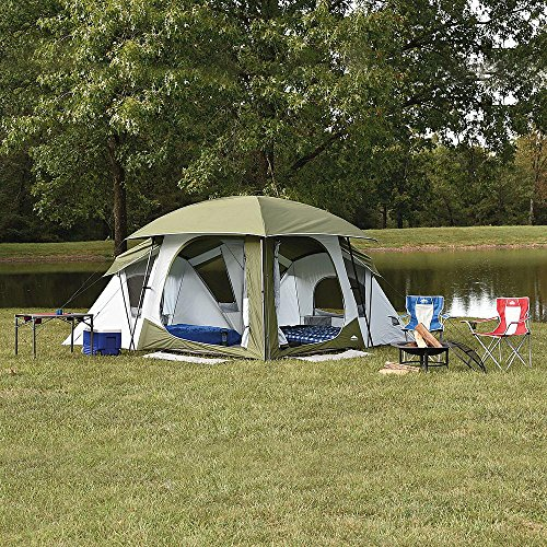 Northwest Territory Falcon 13′ x 13′ Tent Sleeps 9 People