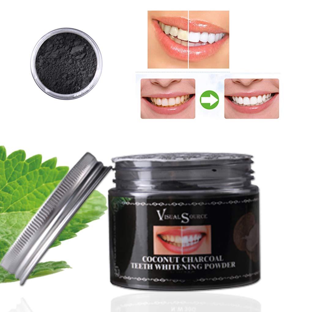 zeruangewei Attivato Organico Naturale di Cocco Carbone Teeth Whitening Polvere Incollare rimozione del tartaro Stain