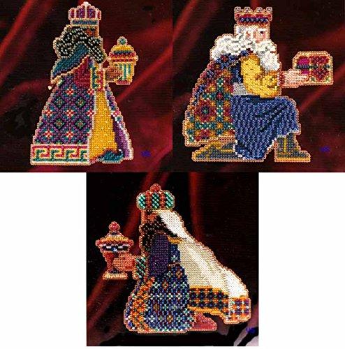 Beads Cross Stitch Kit ~ MAGI TRILOGY Set of 3