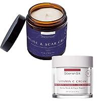 SKINTENSIVE Bruise & Scar Cream + Siberian Silk Vitamin C Face Cream