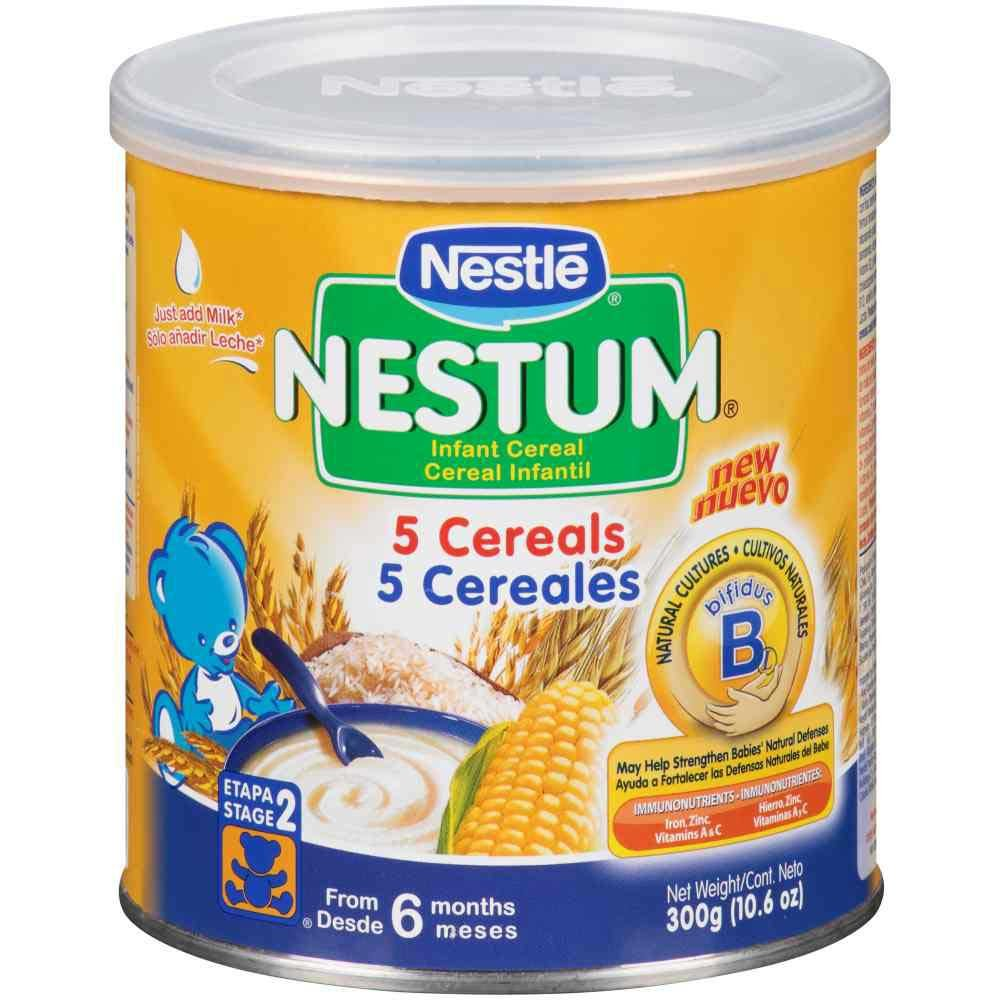 Amazon.com : Nestum Probiotics Infant 5 Cereals, 10.6 Ounce - 12 per case. : Grocery & Gourmet Food
