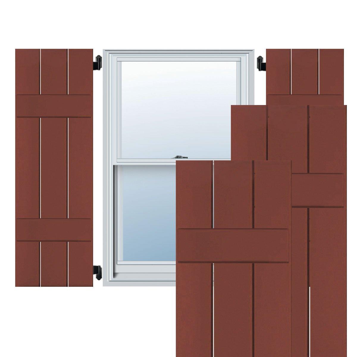 Ekena Millwork CWB12X029RWC Exterior Three Board