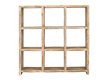 massivum Regal Holz Pinie BxHxT 123x122x40