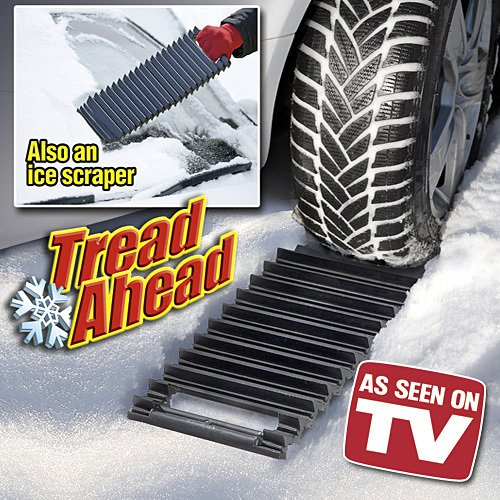 NEW As Seen On TV Tread Ahead Tire Traction System for Snow or Ice Scraper
