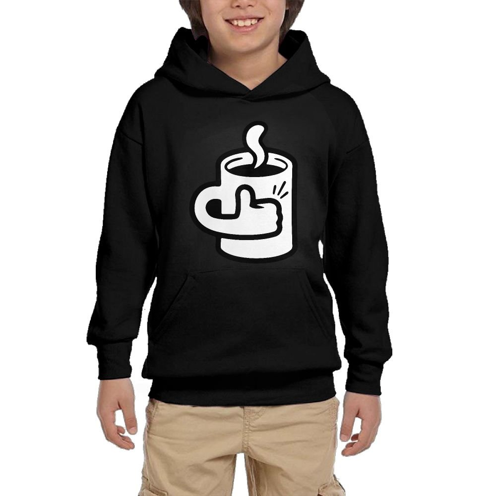 A Damn Fine Cup Youth Boys/Girls Hoodie Sweatshirt Pullover Hood with Pocket