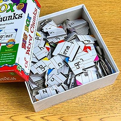 Key Education Big Box of Word Chunks Educational Board Game: Key Education Publishing: Toys & Games