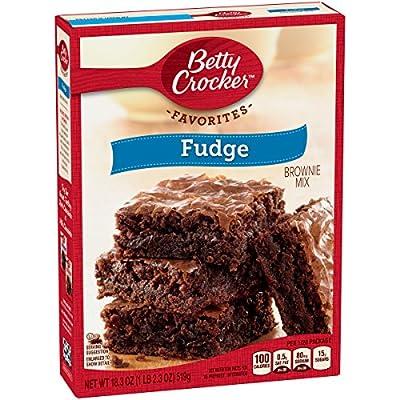 Betty Crocker Brownie Mix Fudge Family Size 18.3 oz Box from General Mills