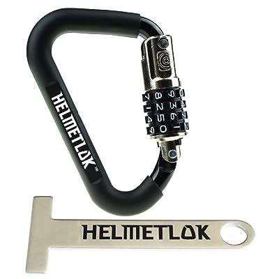Helmetlok Carabiner Style Helmet Lock and Extension (,): Automotive