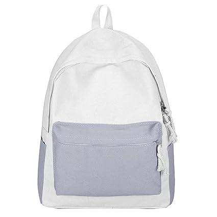 GiveKoiu-Bags - Mochilas de Lona para niñas para la Escuela, Baratas, Modernas