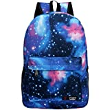 G1 New hot sale Galaxy backpack unisex school bag travel bag (blue)