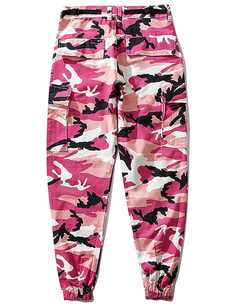 Idopy Youth Camo Cargo Pantalones Unisex Pantalones Casual