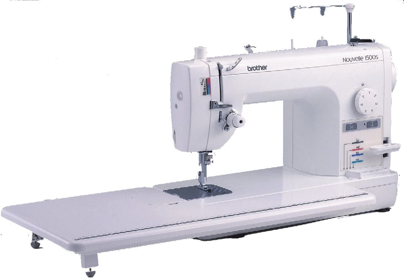 Brother PQ1500S Eléctrico - Máquina de Coser (Blanco, Costura, 7 ...