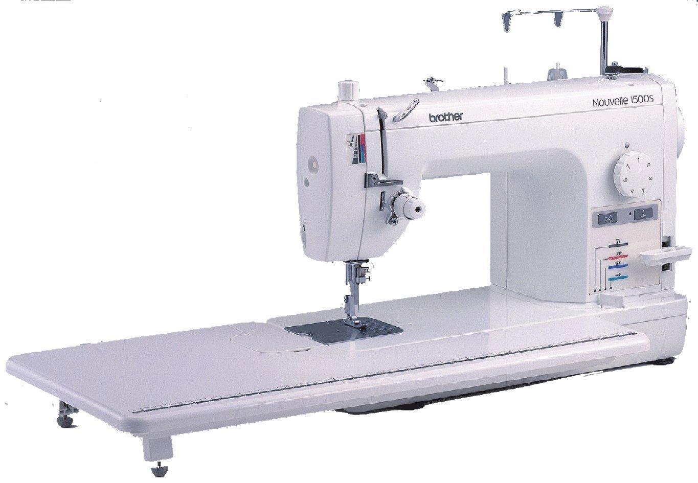 Brother PQ1500S Eléctrico - Máquina de coser (Blanco, Costura, 7 mm, Giratorio, 1500 RPM, Eléctrico): Amazon.es: Hogar