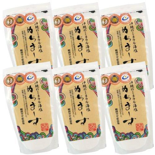 Okinawa sea salt Nuchimasu 250gX6 piece set