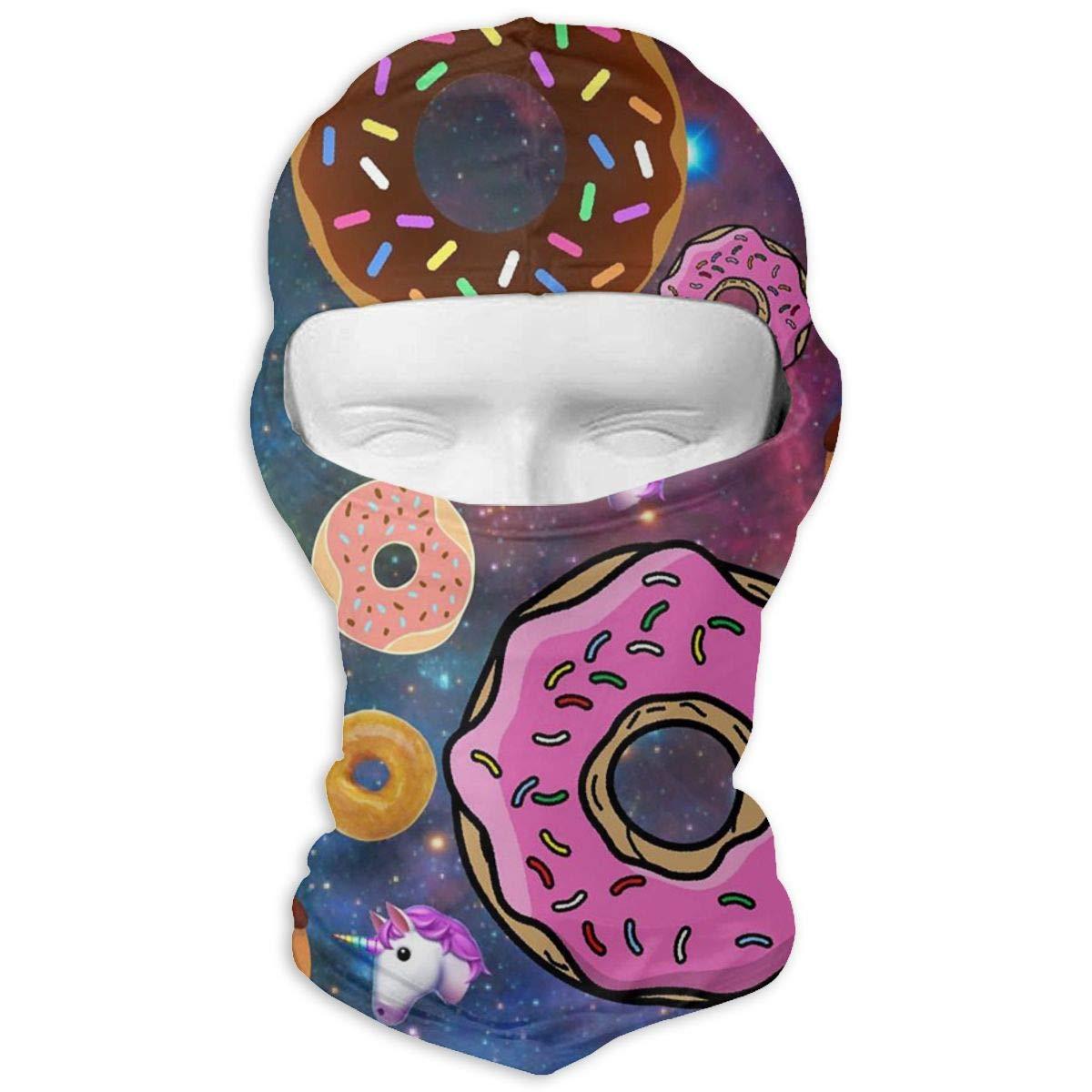Space Donut Winter Ski Full Face Mask Windproof Neck Cover Hood for Men and Women ferfgrg