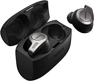 Jabra 100-99000000-60 Elite 65t True Wireless Earbuds Charging Case  – Titanium Black
