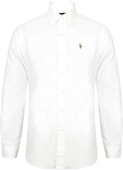 Polo Ralph Lauren C22PR A1H1H Hombre Blanco XXL: Amazon.es: Ropa y ...
