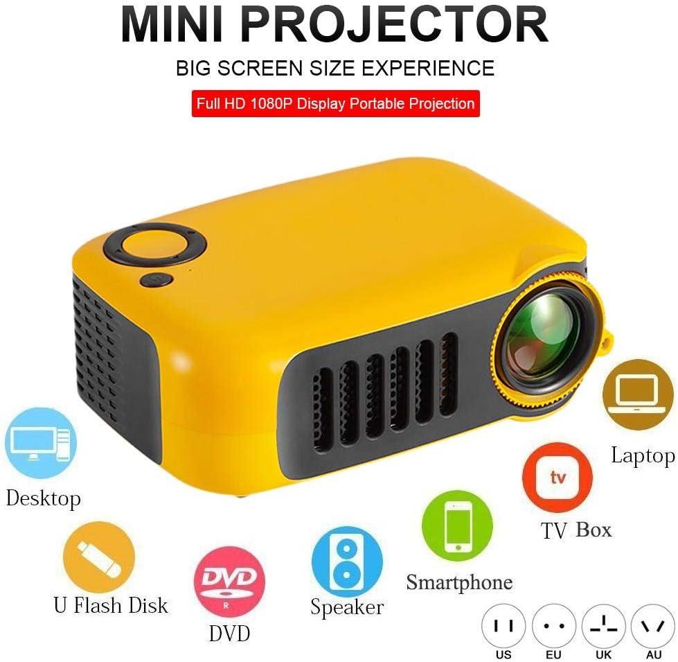 jinclonder Proyector Mini, proyector de Video para la presentación ...