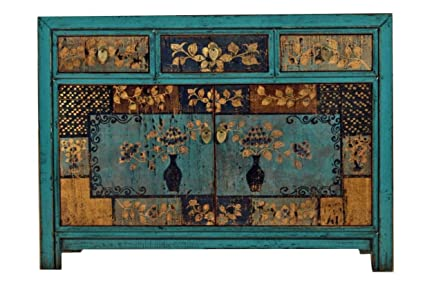 Credenza Vintage Da Cucina : Opium outlet cinese credenza stile vintage shabby chic