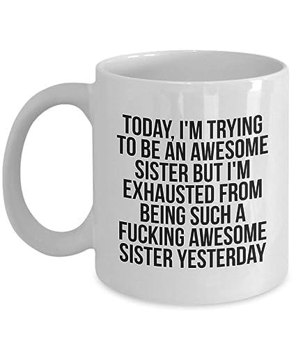 Sister Gifts Mug Coffee Tea Cup Birthday Gift For Christmas