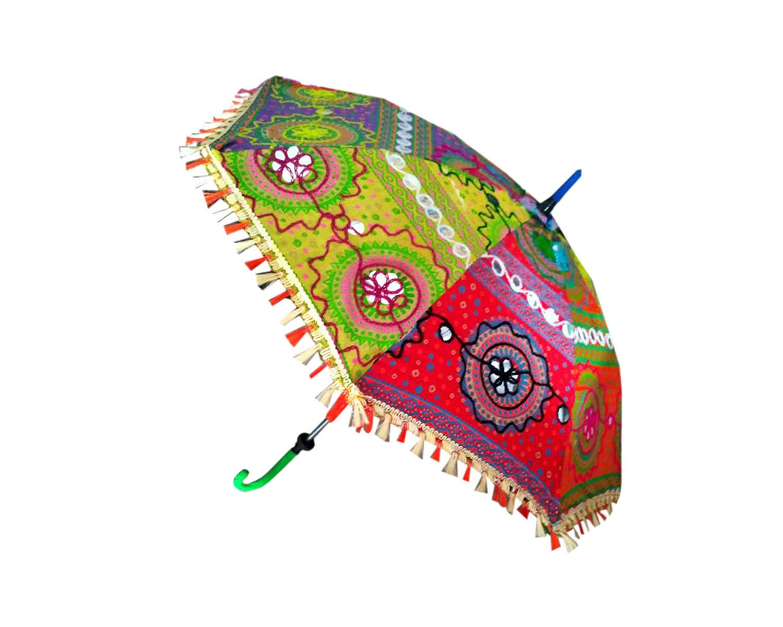 922f580aa9b46 Vinatge Handmade Cotton Umbrella for Children: Amazon.in: Bags, Wallets &  Luggage