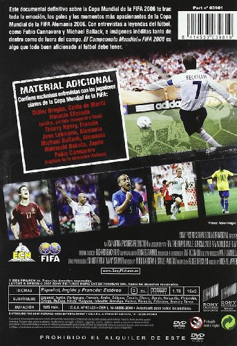 Copa mundial fifa 2006 [DVD]: Amazon.es: Varios, Michael Apted: Cine y Series TV