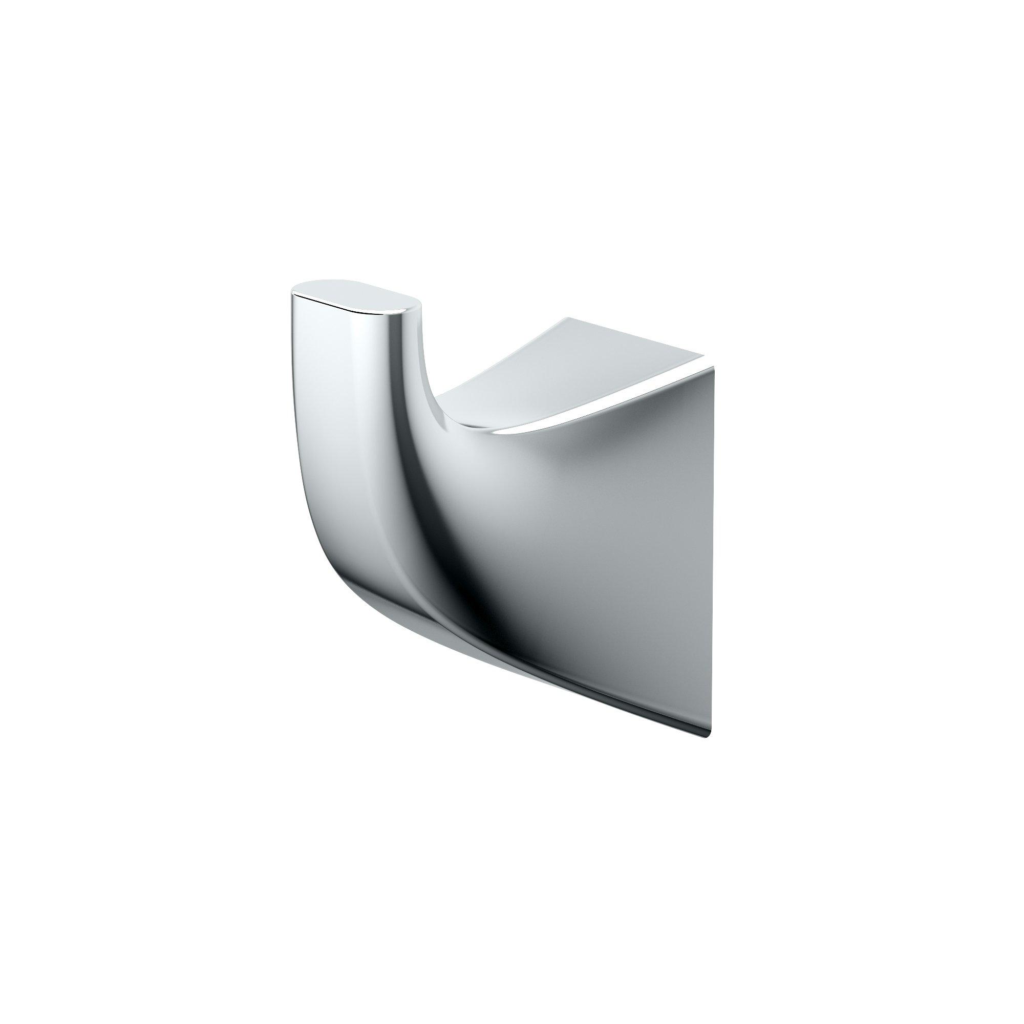 Gatco 5175 Quantra Bathroom Robe Hook, Chrome