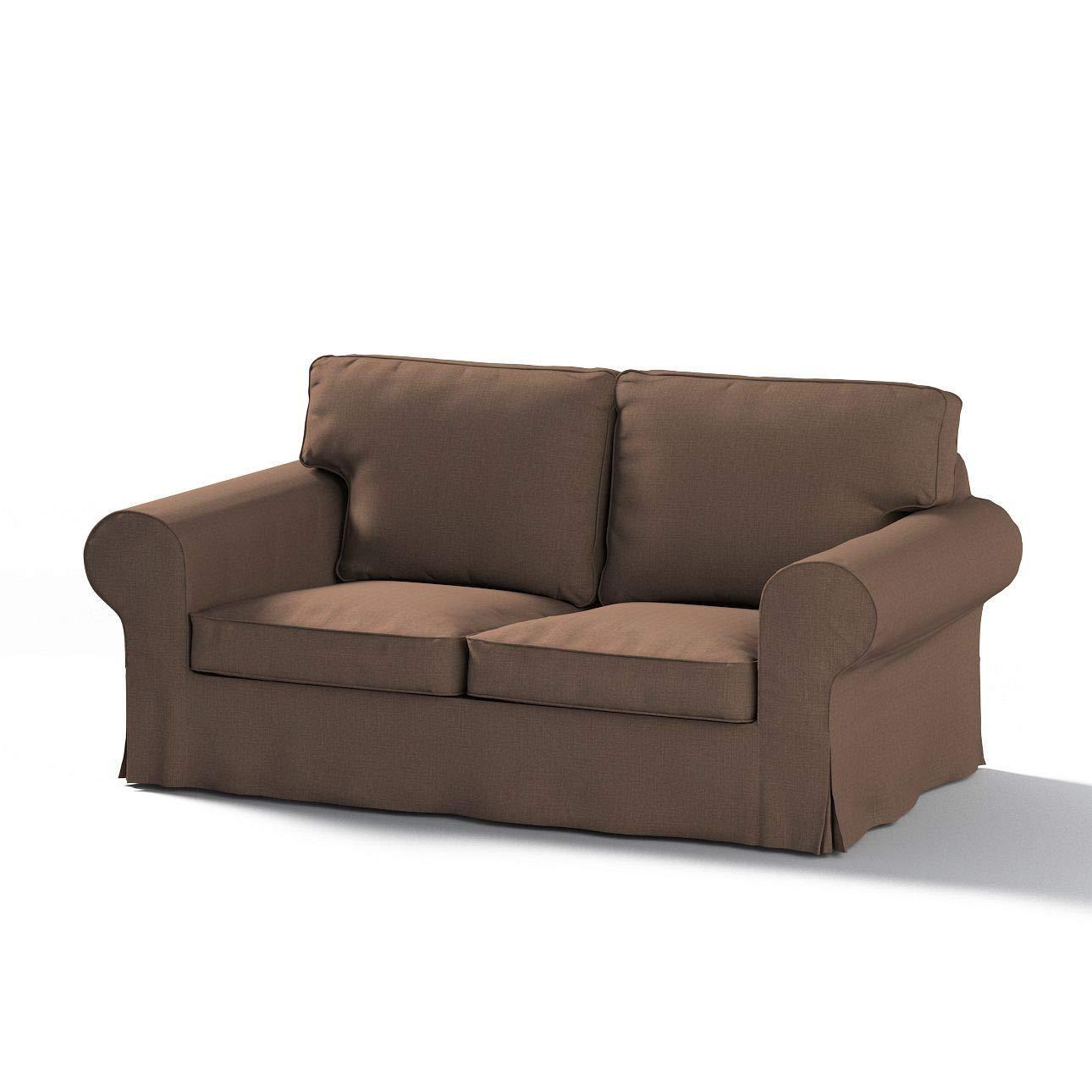 Dekoria Ektorp 2-Sitzer Schlafsofabezug ALTES Modell Sofahusse passend für IKEA Modell Ektorp braun