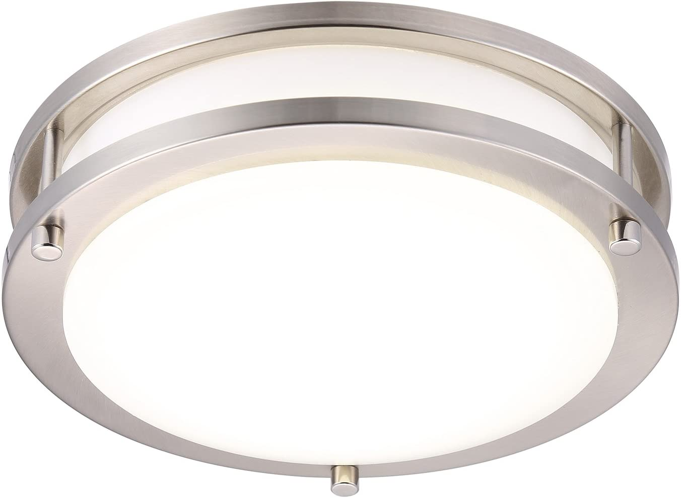 Cloudy Bay LED Flush Mount Ceiling Light,10 inch