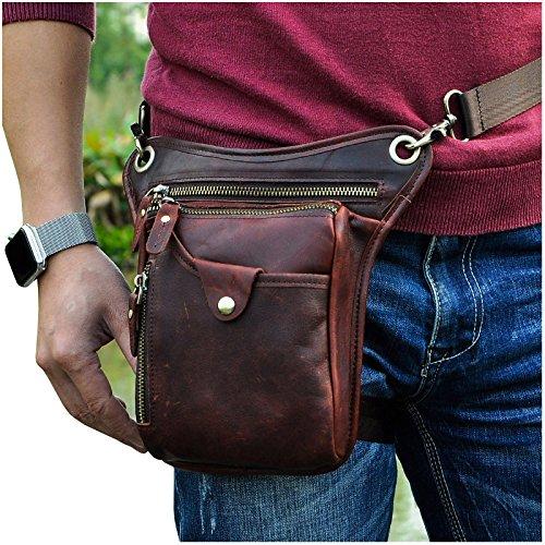 Leather Hip Bag - 7