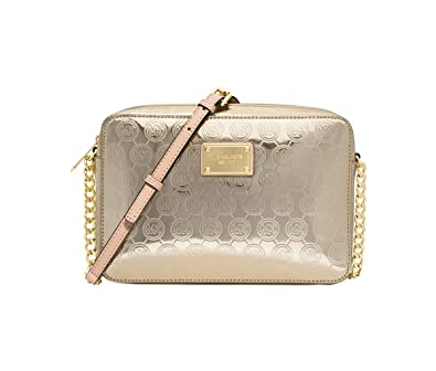 679da1883da31 MICHAEL Michael Kors Jet Set Item Large East West Crossbody (Pale  Gold Gold)  Handbags  Amazon.com